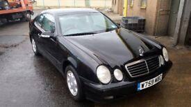 Mercedes-Benz 200 clk petrol black rare manual