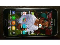 Unlocked Black Samsung Galaxy S5 ono