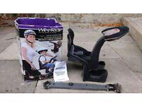 Weeride deluxe child bike seat.