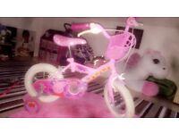 Kids peppa pig bike