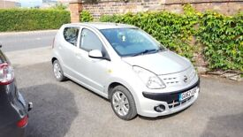 2012 Nissan Pixo 1.0N-TEC Automatic,5door,aircon,only18980mls,TAX£31p/y,MOT10/18