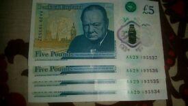 Five pounds AA29