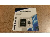 New 32GB Micro Sd Cards. Five Pack.