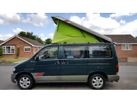 MAZDA BONGO CAMPERVAN 4 BERTH 5 SEAT WITH FULL KITCHEN & ELECTRIC ROOF, SUPERB! NO DEP FINANCE AVAIL