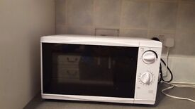 Microwave,kettle and toaster