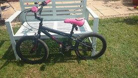 """Apollo boogie bmx bike 18"""" wheels, suitable 5-8 years approx."""