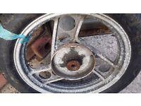 Yamaha XJ900 Rear wheel