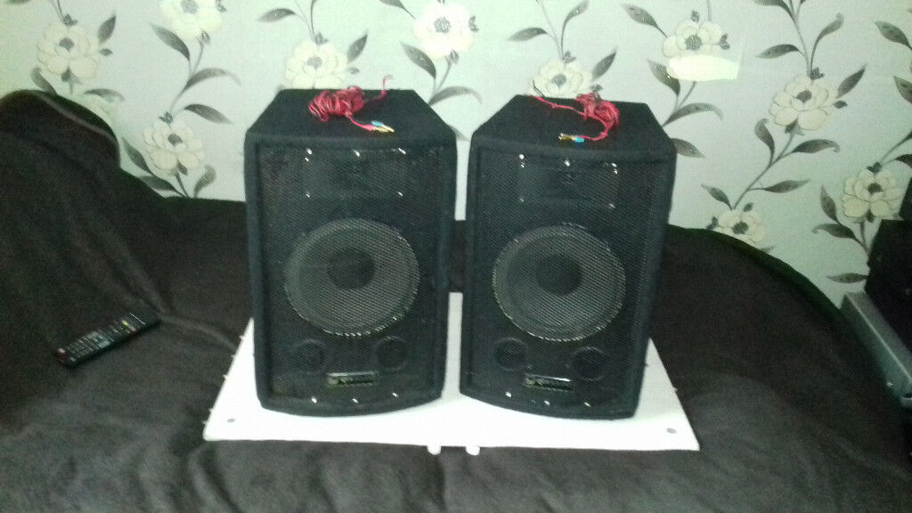 POWERFULL 150 WATT SPEAKERS