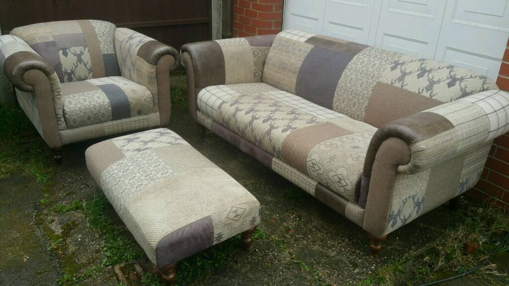 Dfs Country Patchwork Sofa In Rotherham South Yorkshire Gumtree