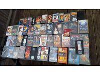 Box full of VHSs