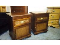 JOHN LEWIS MATCHING BEDSIDE TABLES IN EXCELLENT CONDITION FREE LOCAL DELIVERY AVAILABLE