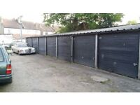 Safe locked-up garages with spacious access next to London Road (SW16 4 LW, Norbury train station)