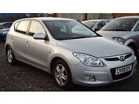 2008 Hyundai i30 1.6 CRDi Diesel FULL HYUNDAI SERVICE HISTORY + LONG MOT not focus ceed astra civic