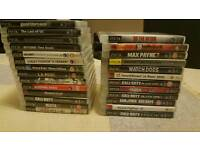 Playstation 3 160gb + 29 games