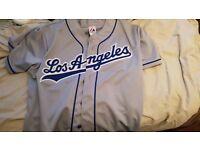 L.A. Dodgers baseball top xl