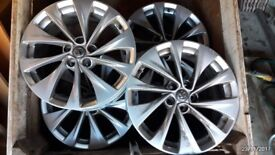 2016 model Astra 17 inch alloys for sale. 3 perfect, one scratched. sell together or separately.