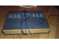 Atari 2600 'Woody' Console with Space Invaders