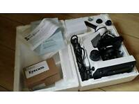 brunel sp22 koi pond microscope like new with extras