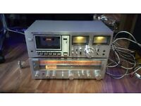 Sony STR212L Receiver Amp & Sony TCK4A Cassette deck,Vintage,working
