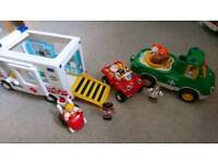 Wow toddler toys bundle age 18m - 5 years ambulance vet car