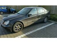 Mercedes C180 lpg gas