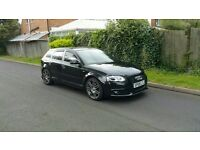 AUDI A3, S LINE, BLACK EDITION! 2.0 TDI FULL AUDI HISTORY, 2 KEYS, 1 OWNER 91,000 MILES, PX WELCOME