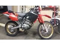 HONDA XR 250 CC ROAD LEGAL MOT TILL MAY 2017