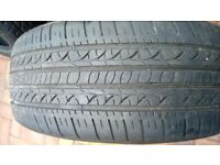 1x 205/55/16 tyres - tyre has 5.6 mm tread depth.