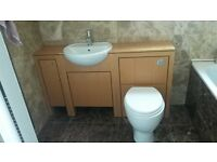 Sink and Toilet unit