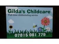 Gilda childcare/babysitter