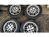 FORD 15'' Alloy Wheels + 4 x tyres 195 60 R 15'' 88H