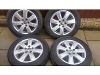 Vw passat/t4 alloy wheels and tyres cataluna wheels