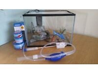 24 litre fish tank with all accessories