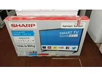 Sharp smart TV for sale new in box