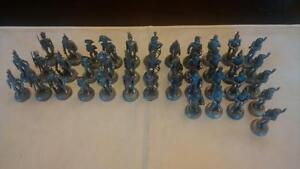 Lot of 40 Almirall Palow Lead 1/32 scale soldiers