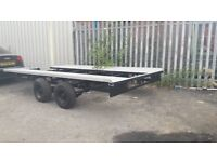 Heavy duty car transport trailer