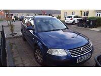 2002 VW Passat 2.lt petrol for sale