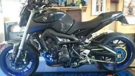One VERY custom Yamaha MT09 ABS