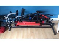 York multi workout station plus weight bench