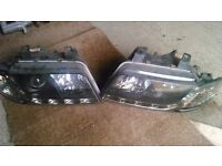 LED headlamps for Audi A4 early model