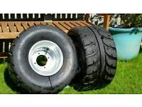 Quad bike rear wheels