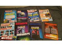 Selecton of computer magaziens