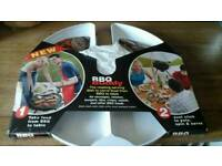 New bbq buddy rotating serving dish just clips on to parasol Still in packaging