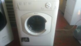 "6KG HOTPOINT AQUARIUS VTD6000 VENTED TUMBLE DRYER IN WHITE(""B"" ENERGY RATING)"