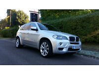 BMW X5 3.0 30d M Sport xDrive 5dr Auto (silver) 2009