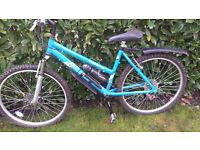 Ladies 21 speed mountain bike