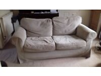 Two Seater Sofa Ikea Rp Removeable Cleaneable Covers Good Condition