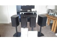 Denon AV Receiver and Speakers