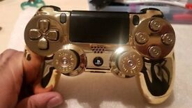 Sony Ps4 DualShock 4 Custom Mode Gold Controller