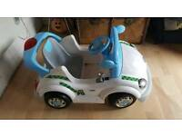 Kids electric police car